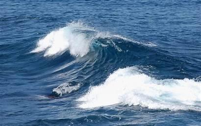 Ocean Atlantic Deep Water Flood Surface Huge