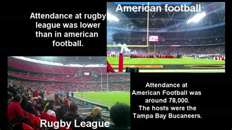 Rugby Union Vs League American Football Vs 4 Nations Rugby League Youtube