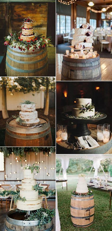 country wedding ideas  great ways   wine barrels