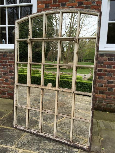 slow arch garden architectural window mirrors