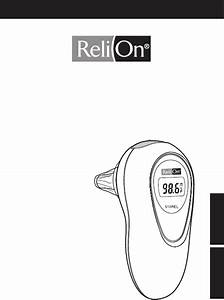 Download Relion Thermometer 510rel Manual And User Guides