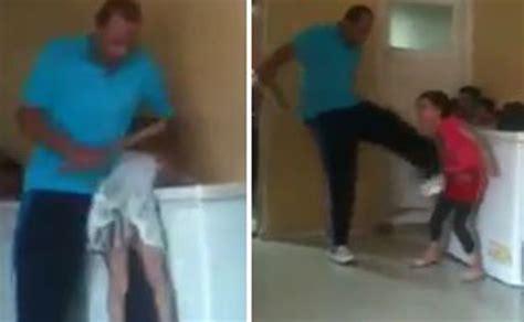 video horrific child abuse  orphanage caught  camera
