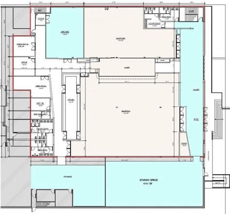 flor plans philanthropic floor plan the loading dock