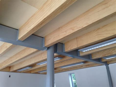 laminate wood floor joists i built 90 lvl exposed joists and rafters new zealand wood products limited