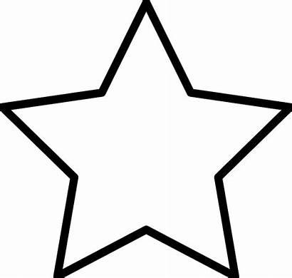 Stars Clipart Star Coloring Colouring Svg Clipartpanda