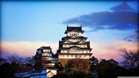 himeji castle  sunrise  hd desktop wallpaper