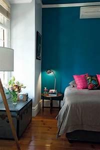 Chambre Gris Et Bleu : chambre bleu et gris inspirations avec rouge rose marron ~ Melissatoandfro.com Idées de Décoration