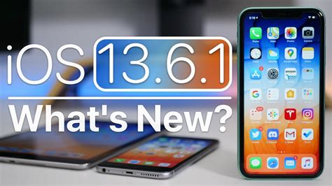 iOS 13.6.1 is Out! - What's New? - All Tech News
