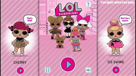 lol surprise dolls ball pop  game app  girls
