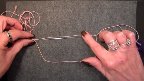 lesson  needle tatted true ring   ball youtube