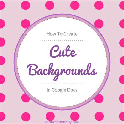 think with google template for google docs how to make your own cute backgrounds in google docs plus