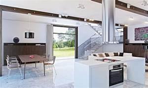 modele de salle a manger 4 cuisine ouverte sur salon With modele de cuisine ouverte sur salon