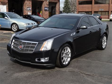 cadillac cts high feature  awd   stock