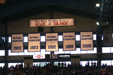 allen fieldhouse kansas    college hoop hits