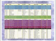 Methodist Liturgical Colors Printable Calendar Template 2018