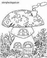 Drawing Coloring Pages Countryside Plantation Printable Simple Template Sketch Getdrawings sketch template
