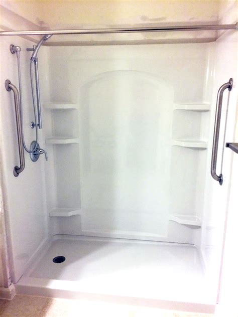 Shower The - the tub shower replacement package nh bath builders