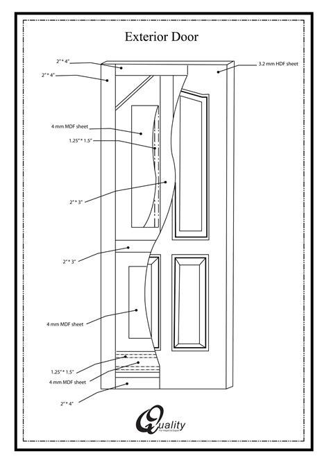 panel exterior door quality doors