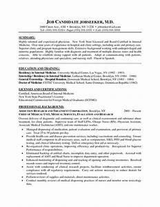 Best photos of medical cv template medical curriculum for Cv template for physicians