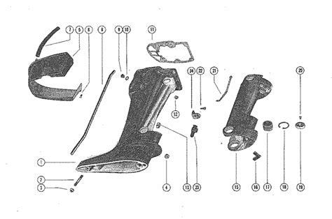 mercury marine  hp drive shaft housing assembly parts