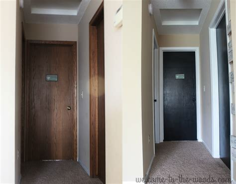 best paint for trim and doors hallway makeover white trim reveal welcome to the woods