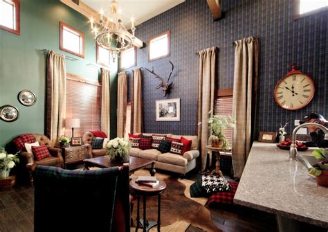 Ivy League Style Living Room On Extreme Makeover
