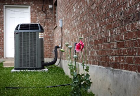 hide air conditioner how to hide air conditioner unit outside trash cans install it direct