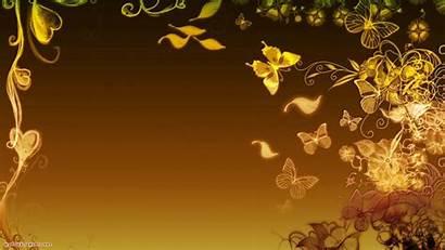 Golden Wallpapers Gold 3d Butterfly Desktop Butterflies