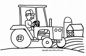 Free Tractor Coloring Pages Az Coloring Pages