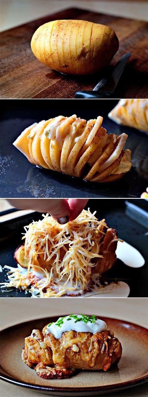 creative potato recipes scalloped hasselback potatoes recipe creative classic and pictures