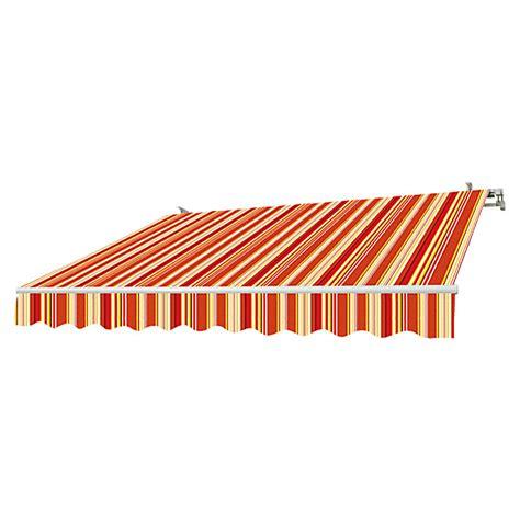 markise 2m breit sunfun gelenkarmmarkise rot gelb breite 3 m ausfall 2 m bauhaus