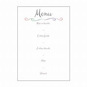 Modele De Menu A Imprimer Gratuit : menu de communion imprimer ~ Melissatoandfro.com Idées de Décoration