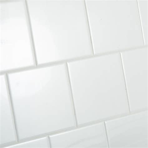 white 6x6 ceramic tile daltile restore bright white 6 in x 6 in ceramic wall tile 12 50 sq ft case re1566hd1p4