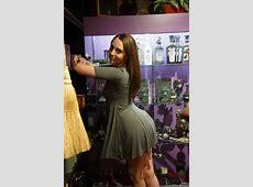 Nickey Huntsman In A Sexy Dress