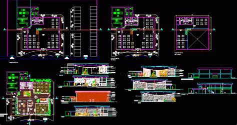 project restaurante dwg full project  autocad designs cad