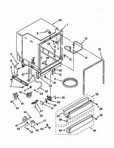 Kenmore Dishwasher Tub Assembly Parts
