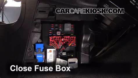 In 2010 Hhr Fuse Box by Interior Fuse Box Location 2006 2011 Chevrolet Hhr 2009