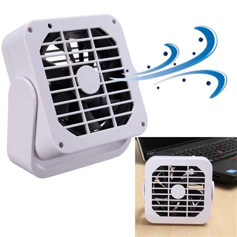 pc bureau silencieux 360 rotation magnétique mini usb fan ventilateur
