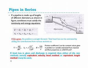 Hydraulic Analysis Of Complex Piping Systems  Updated