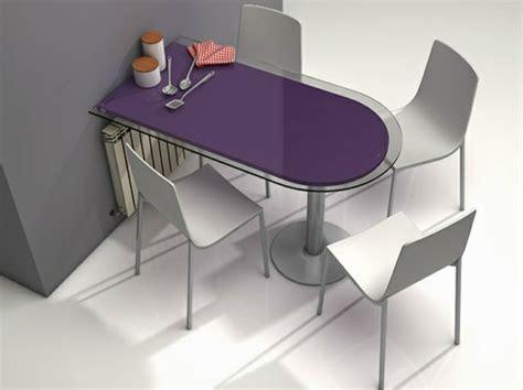 table de cuisine a fixer au mur table murale pour une cuisine plus sympa