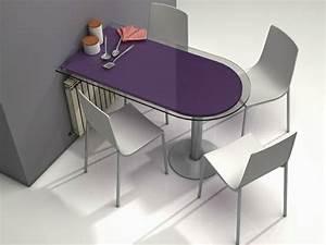 Table Murale Cuisine : table murale pour une cuisine plus sympa ~ Teatrodelosmanantiales.com Idées de Décoration