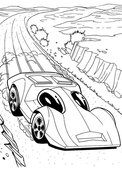 Kleurplaat Hotwheel by Wheels Coloring Pages 360coloringpages