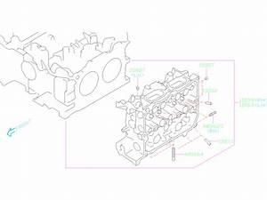 2020 Subaru Legacy Engine Valve Guide  Guide Exhaust Valve