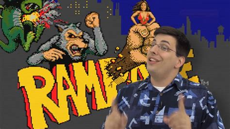 Rampage Arcade Video Game Years 1986 Youtube