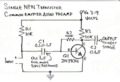 Microcontroller Simple Circuit Boost Line Level Audio