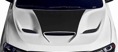 Durango Dodge Hood Srt Decal Bulge Graphics