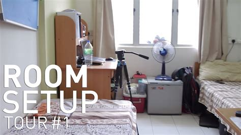Room Setup   College Dorm Youtube