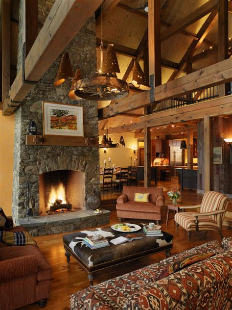 Living Room Rustic by 46 Stunning Rustic Living Room Design Ideas