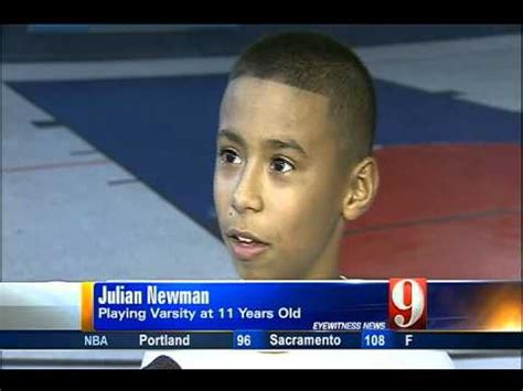 Julian Newman Basketball