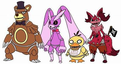 Fnaf Pokemon Fan Five Deviantart Favourites Foxy